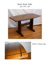 Booth Trestle Table