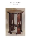 Gothic Arch Side Table