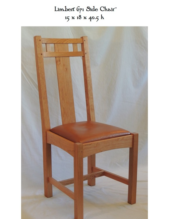 Limbert 671 Side Chair