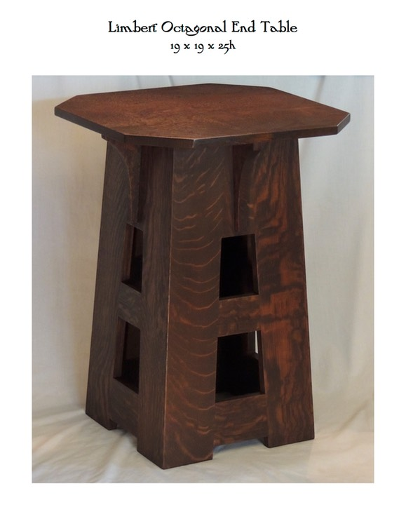 Limbert Octagonal End Table